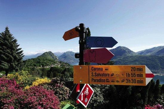 Carona, Suíça: Parco San Grato