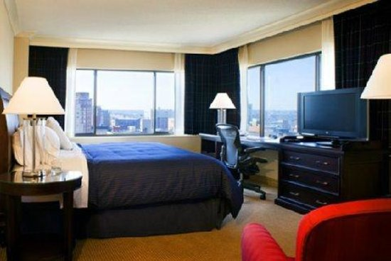 Radisson Hotel Baltimore Downtown Inner Harbor My Room