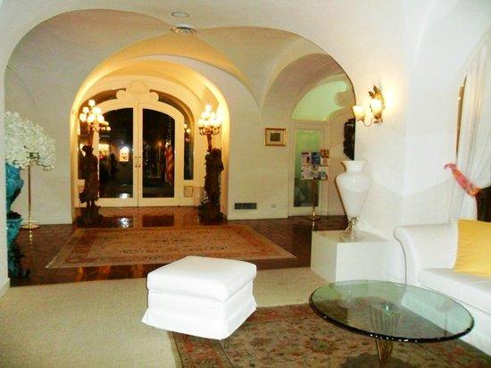 Hotel La Palma: l'ingresso dell'hotel