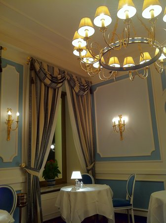 Grand Hotel Miramare: At the restaurant
