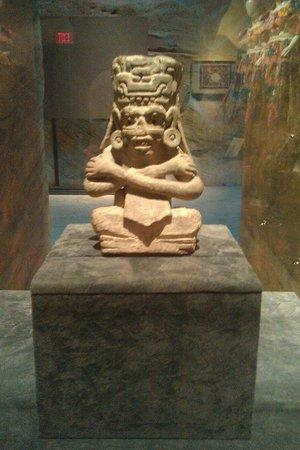 Nevada State Museum & Historical Society: God of Rain & Lighting (750 AD)