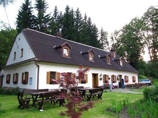 Horni Lipova, Republika Czeska: Penzion Kovarna