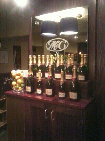 Miller & Carter: champagne