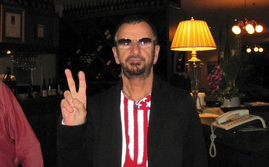 Ringo Starr@ Friends Restaurant