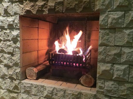 Berghaven Holiday Cottages: fireplace