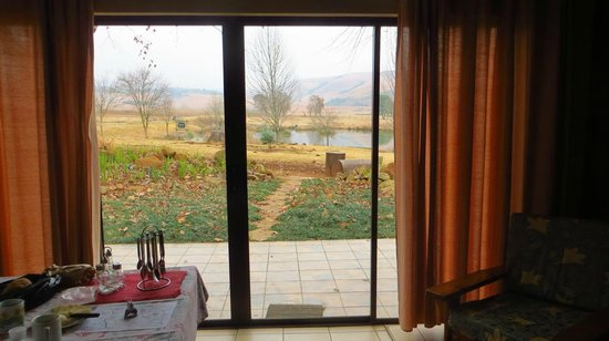 Berghaven Holiday Cottages: View from the newly renovated cottages