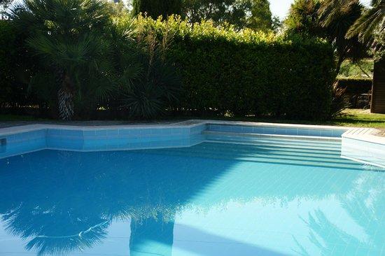 Villa Poggio Chiaro: Ruim en diep zwembad
