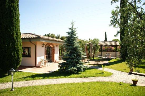 Villa Poggio Chiaro: Ontbijtzaal
