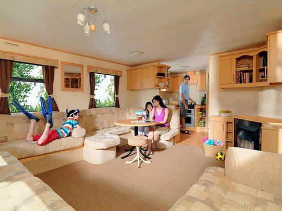 Example of a Deluxe holiday home at Allhallows Leisure Park