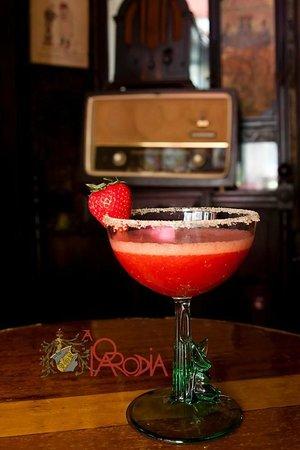Bar A Parodia: Strawberry Marguerita!!