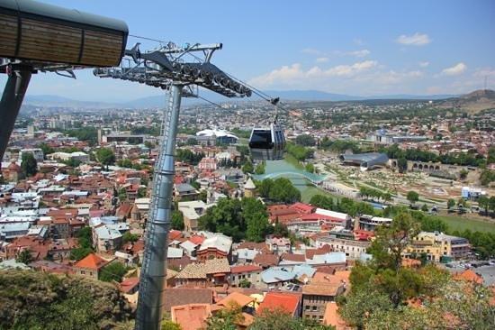 How To Buy A Car In Tbilisi Georgia: Foto Di Narikala Fortress, Tbilisi