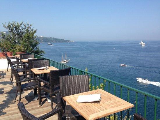 Villa Garden Hotel : la terrazza