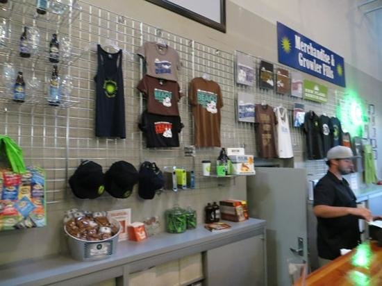 Green Flash Brewing Company: Green Flash Brewery store