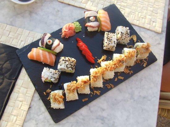 Hostal La Torre: Sushi night