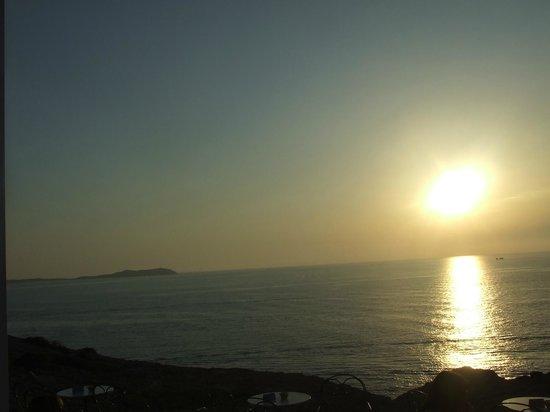 Hostal La Torre: sunset view