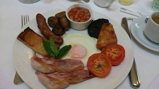 Mount Royale Hotel & Spa: Your full English sir