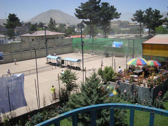International Club: tennis area