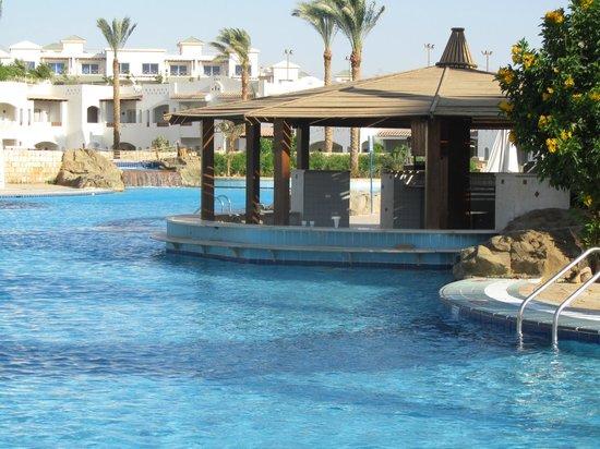 Continental Garden Reef Resort : Бар в бассейне