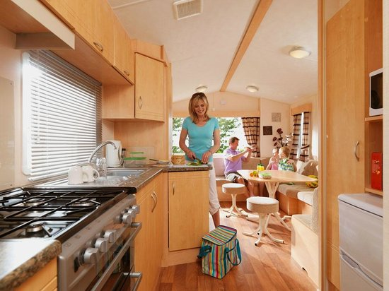 Reighton Sands Holiday Park - Haven: Example of a Superior holiday home at Reighton Sands