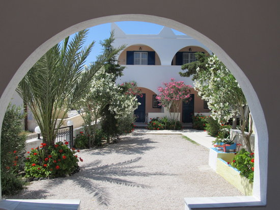 Limnes Villas: The view from the terrace