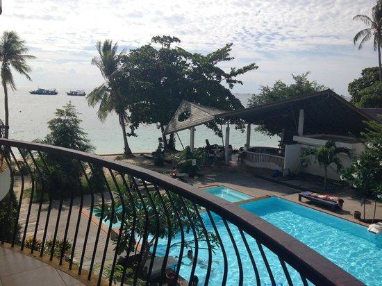 Koh Tao Regal Resort : Pool view room