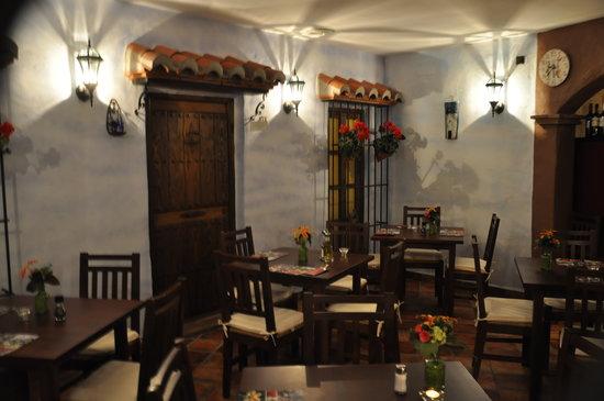 La Tahona Holandesa : Gezellige Spaanse patio maar dan binnen!