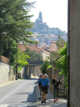 Chapelle Saint-Michel d'Aiguilhe : via Podiensis - we're on our way