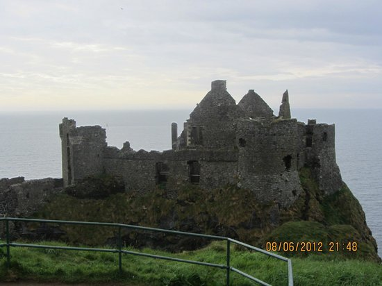 Dunluce Castle: The Castle
