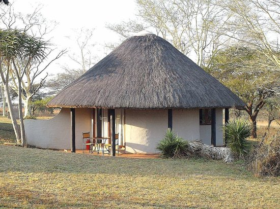 ‪‪Zululand Safari Lodge‬: les huttes self catering‬