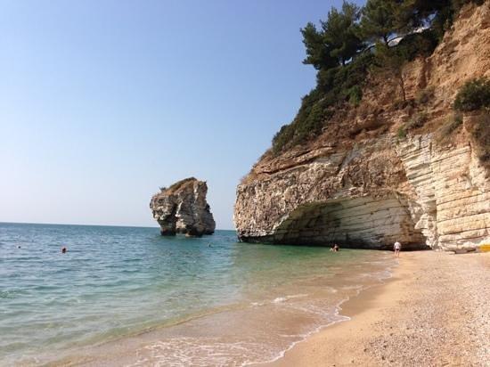 Mattinata, Italia: baia dei mergoli