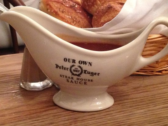 Peter Luger Steak House : Pikante Souce