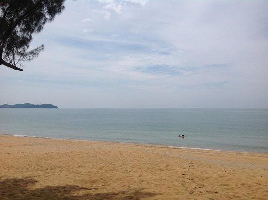 Club Med Cherating Beach: Deserted main beach