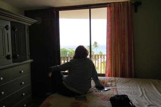 Hotel El Guajataca : in the room!!!  perfect view  :)