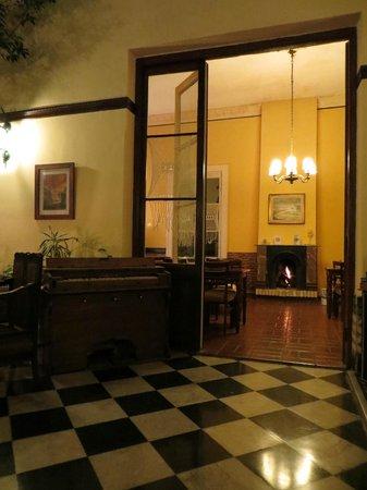 Hotel Posada del Virrey : Area de cafe da manha