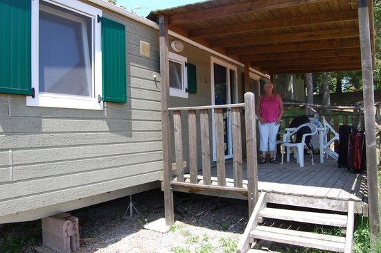 Camping Siena Colleverde : the cabin
