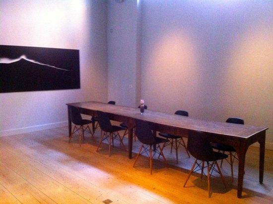 Hotel Julien: very modern meeting room