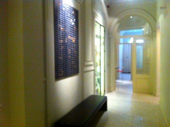 Hotel Julien: corridors