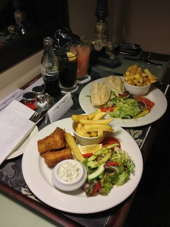Room Service Food - Excellent Quality! - Picture of London Bridge ...