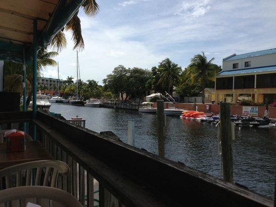 Key West Inn - Key Largo: View from across the canal (From Restaurant)