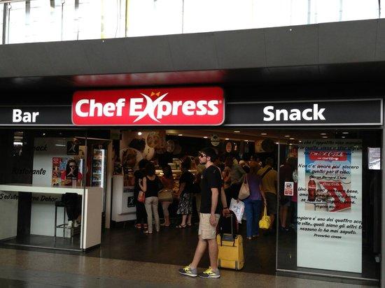 locale chef express nella stazione termini