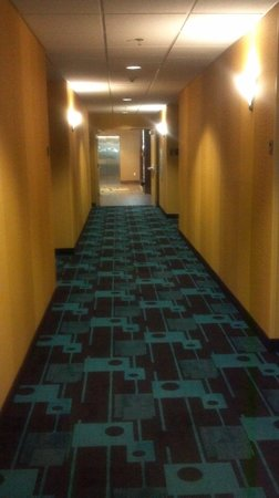 Fairfield Inn & Suites Portland South/Lake Oswego : Hallway