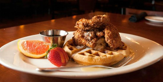 Sal's Italian Chop House: Chicken & Waffles