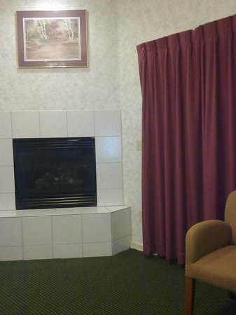 Miners Inn Motel: Chimenea
