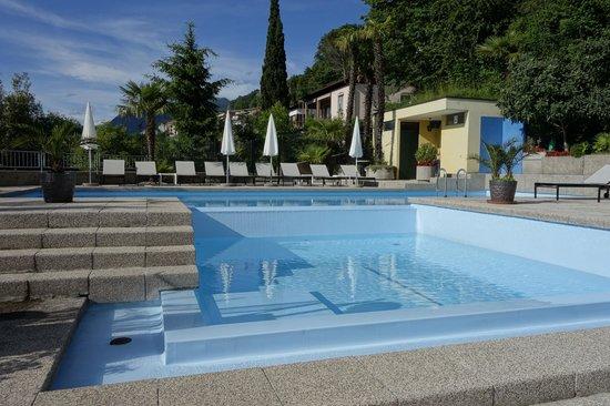 Hotel Campione: бассейн