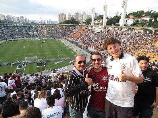 Pacaembu Stadium: Jogo do Timão