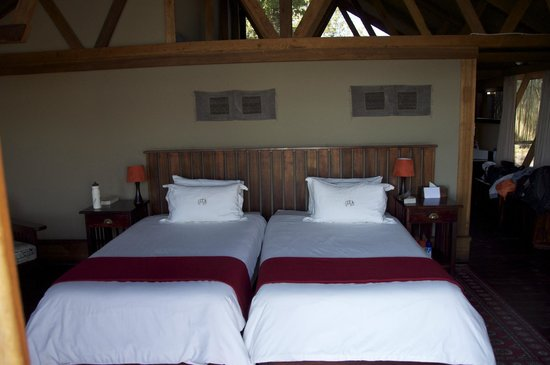 Lebala Camp - Kwando Safaris : The beds