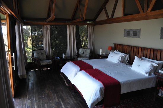 "Lebala Camp - Kwando Safaris : A view out the ""window"""
