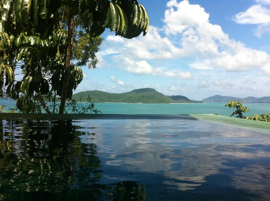 Sri Panwa Phuket Luxury Pool Villa Hotel: View from our pool villa