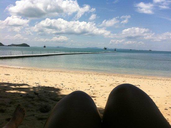Sri Panwa Phuket Luxury Pool Villa Hotel: private beach