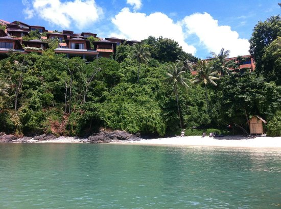 Sri Panwa Phuket Luxury Pool Villa Hotel: view from private pier